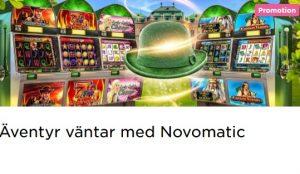 Vinn belöningar från spel från Novomatic på Mr Green!