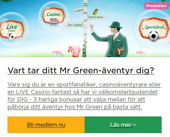 Klicka här och spela Novomatic spel nu via Mr Green!