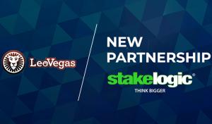 Stakelogic påbörjar samarbete med nätcasino LeoVegas!